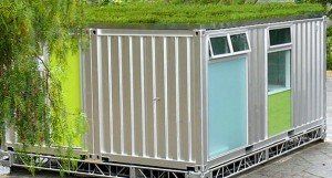 recycled shipping container